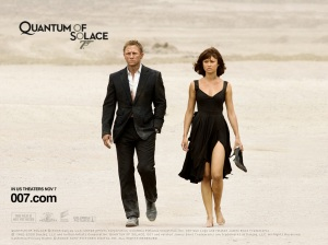 quantum of solace 007