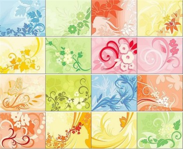 floral-ornament-backgrounds