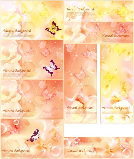SS Flower Background � Vector