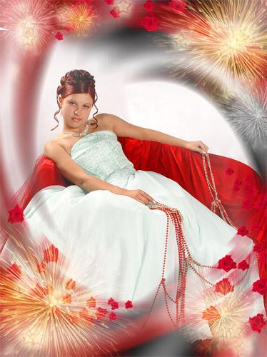 wedding fireworks psd template Wedding Fireworks Psd template
