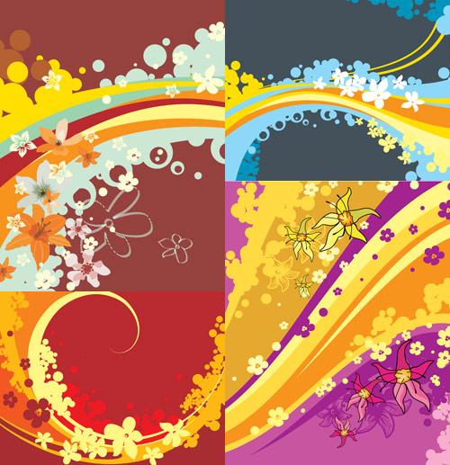 صور أغلبها PSD للتصميم ... Floral-designs