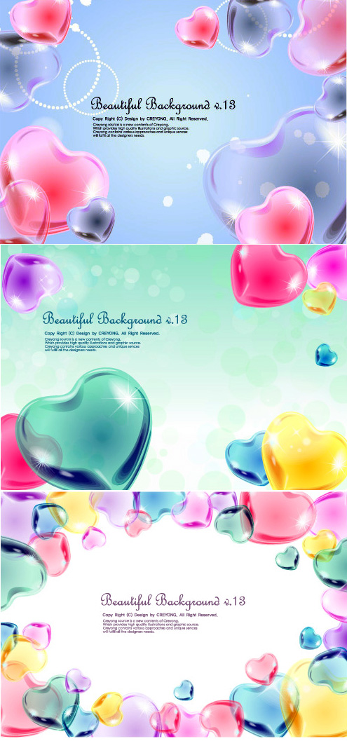 Heart Beautiful Backgrounds �