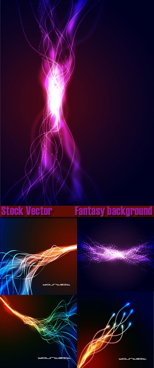 Fantasy Background � Vector