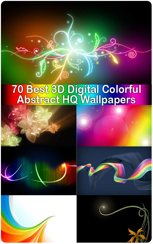 3d digital wallpapers. 70 Best 3D Digital Colorful