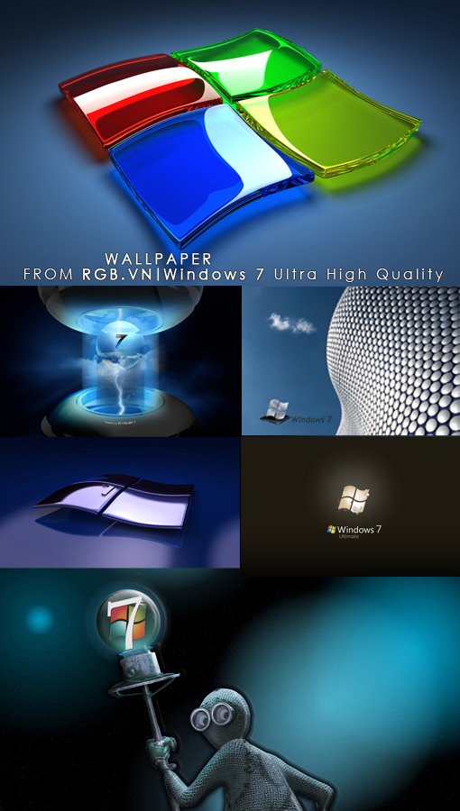 wallpaper windows 7 3d. Windows 7 Wallpapers