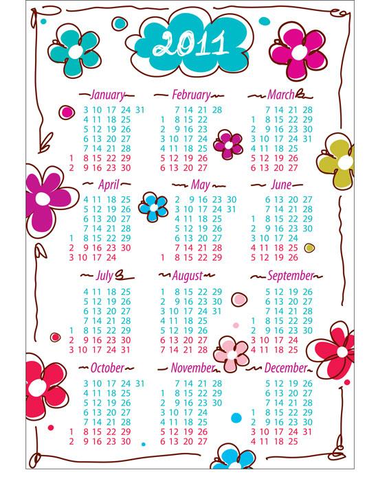 free calendar 2011 template. to 2011 calendar templates