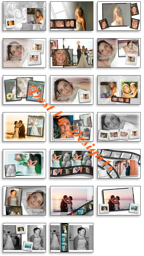 creative album psd wedding collection vol 05 Creative Album PSD Wedding Collection   Vol 5